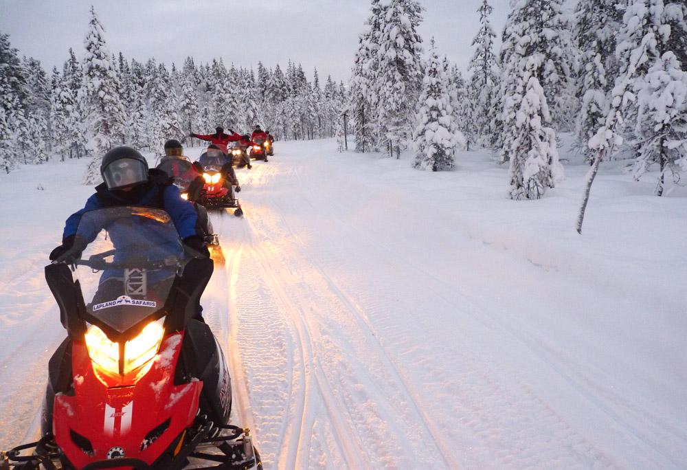 Laponie – 60 pers